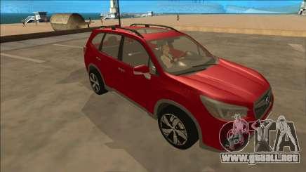 Subaru Forester 2019 para GTA San Andreas