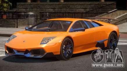 Lamborghini Murcielago LP-670 para GTA 4