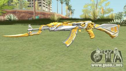AK-47 (Knife Iron Beast) para GTA San Andreas