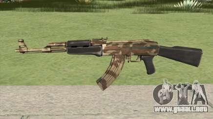 AK-47 (Camo Desert) para GTA San Andreas