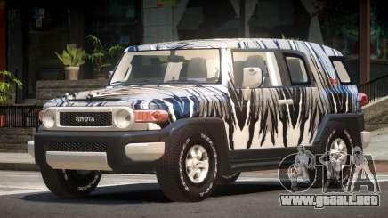 Toyota FJ Cruiser ST PJ1 para GTA 4
