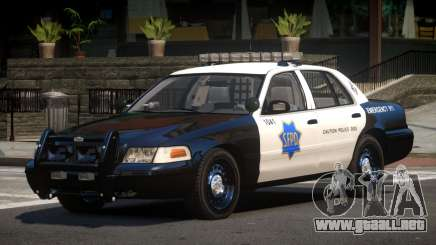 Ford Crown Victoria CR Police para GTA 4