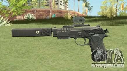 Beretta 92 (Silenced) para GTA San Andreas