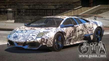 Lamborghini Murcielago LP-670 PJ1 para GTA 4