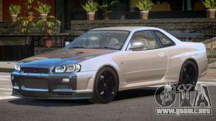 Nissan Skyline R34 E-Style PJ6 para GTA 4