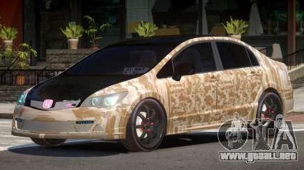 Honda Civic R-Tuning PJ3 para GTA 4