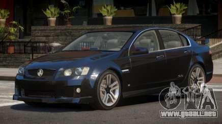 Holden Commodore FBI para GTA 4