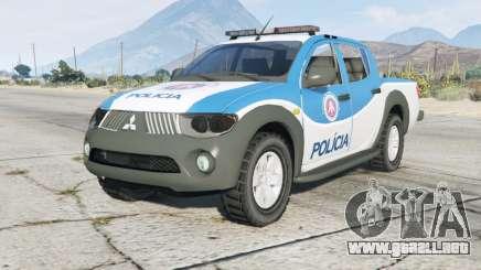Mitsubishi L200 Departamento De Policía De para GTA 5