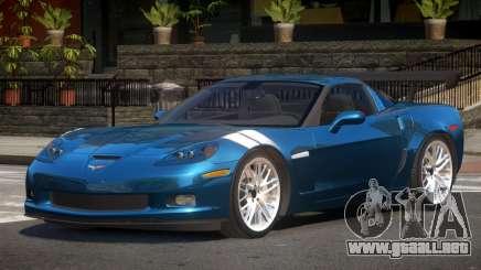 Chevrolet Corvette GS para GTA 4