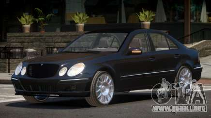 Mercedes Benz E55 V2.1 para GTA 4