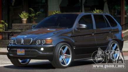 BMW X5 S-Style SR para GTA 4