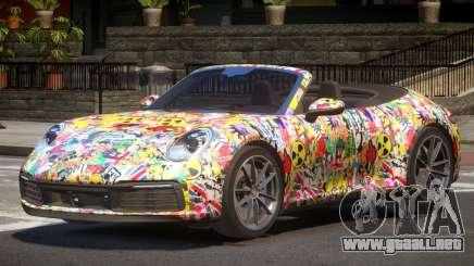2019 Porsche 911 Carrera S PJ1 para GTA 4