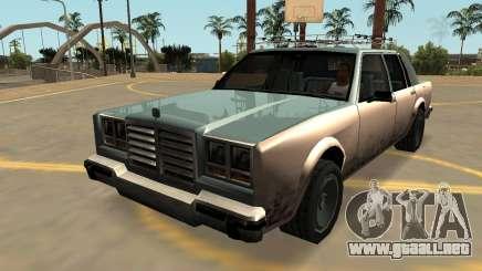 Schyster Greenwood (Insignias-PJ-Extras) para GTA San Andreas