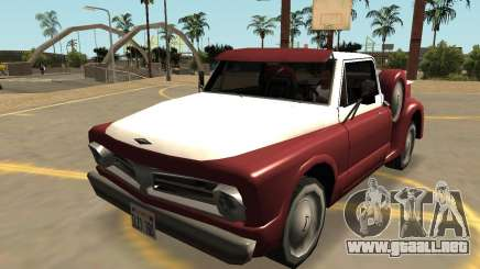 Insípida Slamvan Stock (Sa Estilo, Extras & PJ) para GTA San Andreas