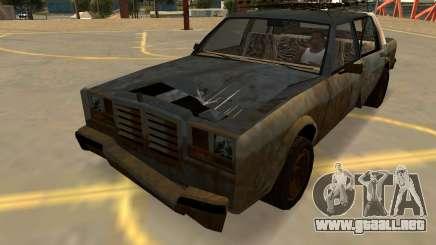 Schyster Greenwood Oxidada (Insignias-PJ-Extras) para GTA San Andreas