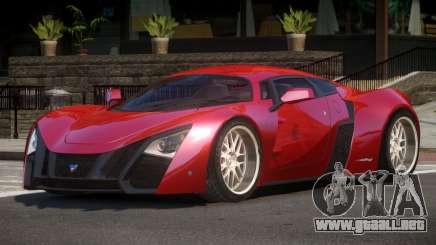 Marussia B2 GT-Sport para GTA 4