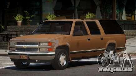 1997 Chevrolet Suburban para GTA 4