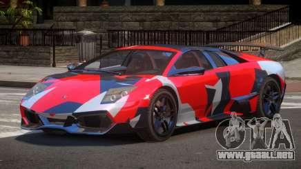 Lamborghini Murcielago LP-670 PJ2 para GTA 4
