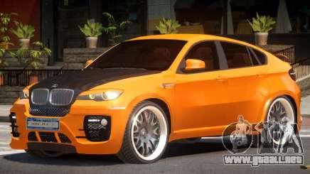 BMW X6 R-Tuning para GTA 4