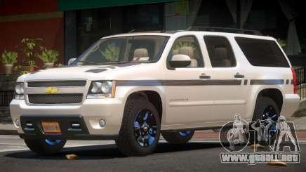 Chevrolet Suburban E-Style para GTA 4