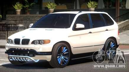 BMW X5 S-Style NR para GTA 4