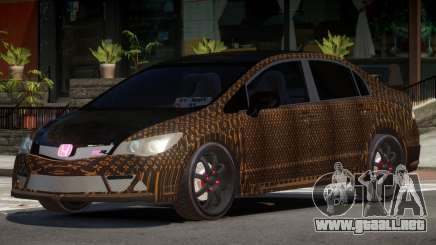 Honda Civic R-Tuning PJ1 para GTA 4