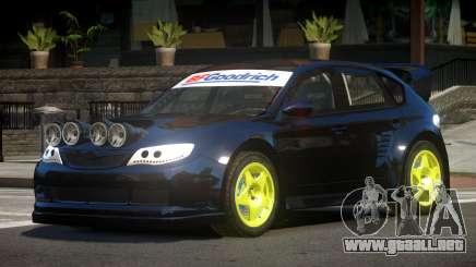 Subaru Impreza WRX STI V8 para GTA 4