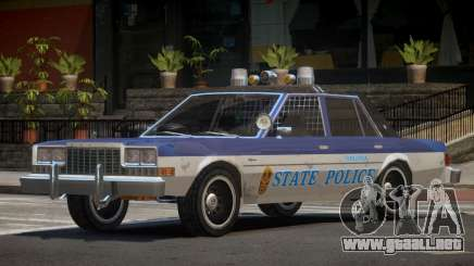 Dodge Diplomat Police V1.3 para GTA 4