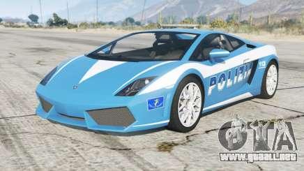 Lamborghini Gallardo Polizia para GTA 5