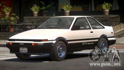 Toyota AE86 GT-S Coupe para GTA 4