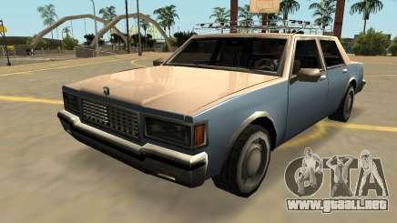 Declasse Premier Clásico (FIV, Insignias, Extras) para GTA San Andreas