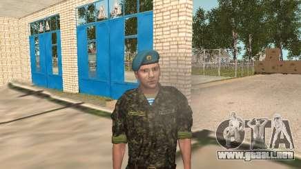 Fedor Dobronravov en el formulario de aire para GTA San Andreas
