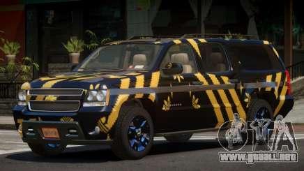 Chevrolet Suburban E-Style PJ3 para GTA 4