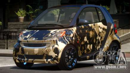 Smart ForTwo RS PJ5 para GTA 4