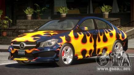 Mercedes Benz CLA V1.0 PJ3 para GTA 4