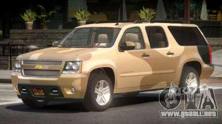 Chevrolet Suburban V2.1 PJ3 para GTA 4