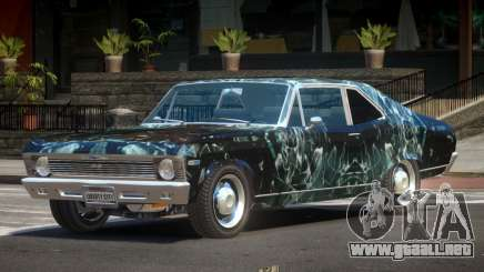 1970 Chevrolet Nova ST PJ3 para GTA 4