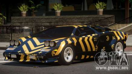 1985 Lamborghini Countach LP500 QV PJ3 para GTA 4