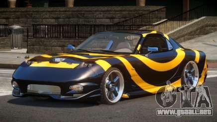 Mazda RX-7 E-Tuning PJ5 para GTA 4