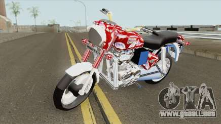 Royal Enfield Bullet Electra 350 (Red) para GTA San Andreas