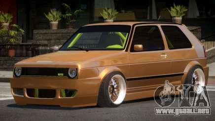 Volkswagen Golf 2 LT para GTA 4