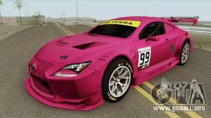 Lexus RC-F GT3 (RHA) para GTA San Andreas