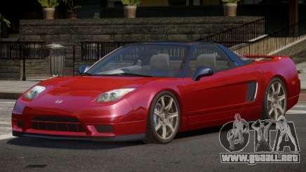 Honda NSX V2 para GTA 4