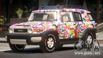 Toyota FJ Cruiser ST PJ6 para GTA 4