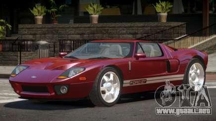 Ford GT R-Tuned para GTA 4