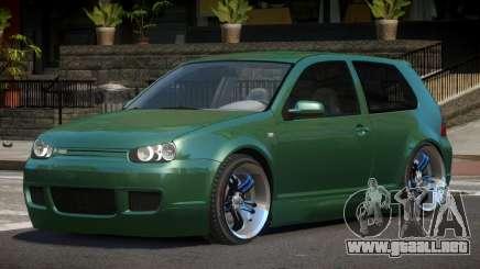 Volkswagen Golf IV L-Tuned para GTA 4