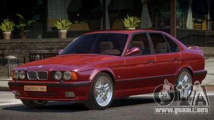 1992 BMW M5 E34 para GTA 4