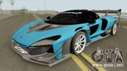 McLaren Senna GTR 2019 para GTA San Andreas