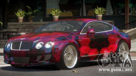 Bentley Continental GT Elite PJ3 para GTA 4