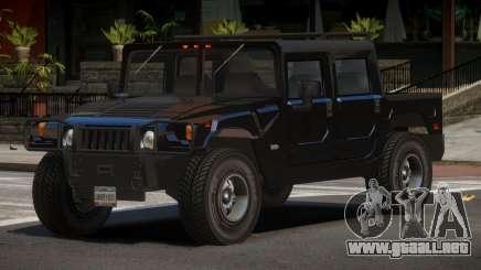 Hummer H1 PU para GTA 4